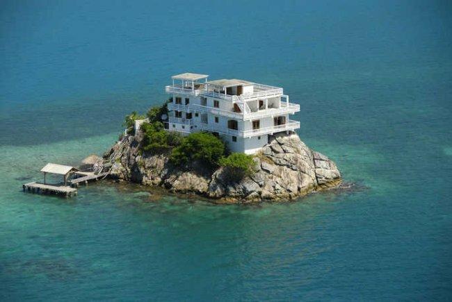Красивые дома на островах 2017 года (12 фото)