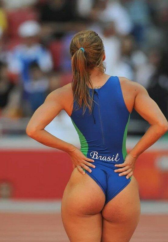 Пикантные засветы спортсменок